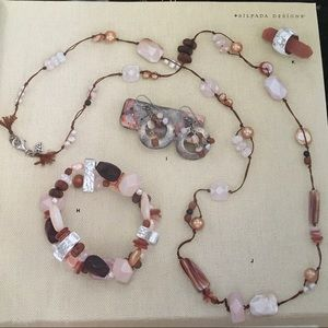 Silpada Rose Quartz Necklace N1428